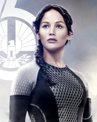 Jennifer Lawrence In The Hunger Games Catching Fire Picture for iPhone 6 Plus