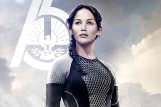 Jennifer Lawrence In The Hunger Games Catching Fire - Obrázkek zdarma pro 1024x768