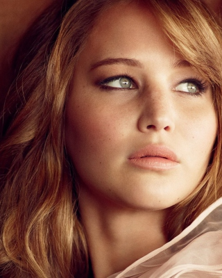 Jennifer Lawrence Background for iPhone 6 Plus