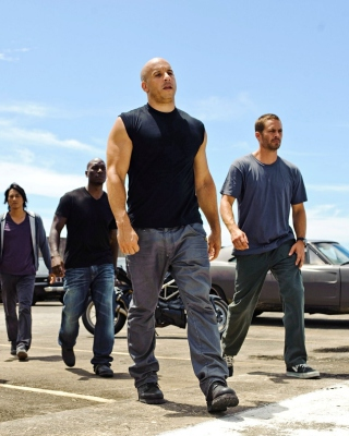 Fast and Furious 7 HD Background for Nokia C2-02