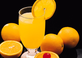 Free Fresh Orange Juice Picture for Android, iPhone and iPad