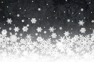 Snowflakes Background for Android, iPhone and iPad