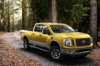 Nissan Titan Background for Android, iPhone and iPad