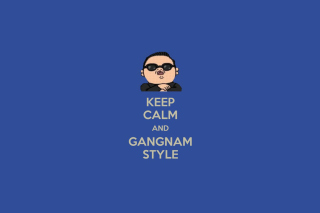 Gangnam Style PSY Korean Music Background for Android, iPhone and iPad