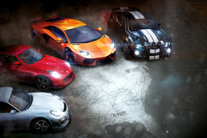 The Crew Racing Video Game wallpaper