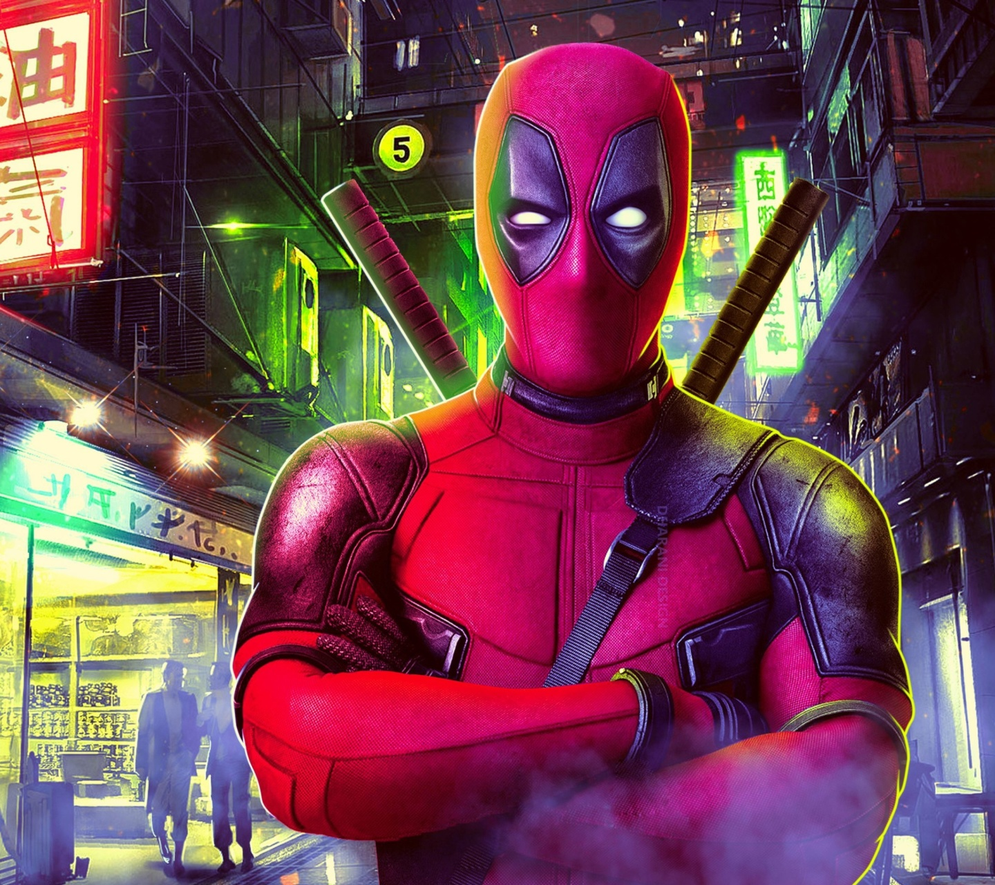 Deadpool Marvel Comics Poster wallpaper 1440x1280