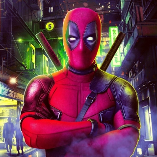 Free Deadpool Marvel Comics Poster Picture for iPad mini