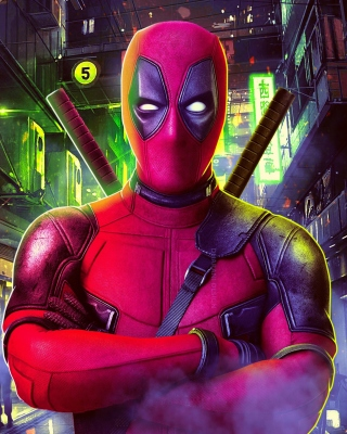 Deadpool Marvel Comics Poster Wallpaper for Nokia Asha 310