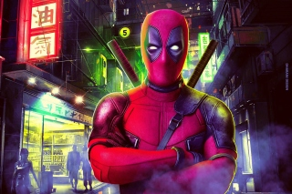 Deadpool Marvel Comics Poster Wallpaper for 220x176