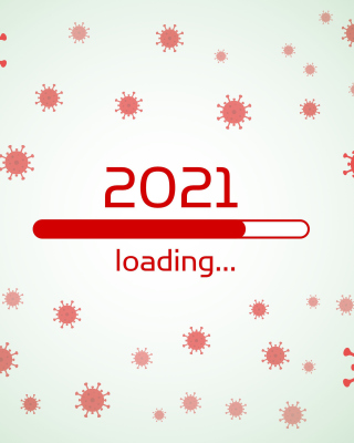 2021 New Year Loading Wallpaper for 360x640