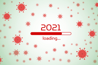 2021 New Year Loading Wallpaper for Widescreen Desktop PC 1280x800