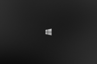 Windows 8 Black Logo Background for Android 1200x1024