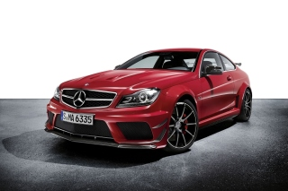 Mercedes C63 AMG Coupe Background for Android, iPhone and iPad