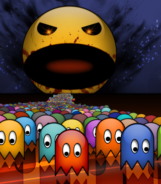 Pacman Picture for Nokia C1-01