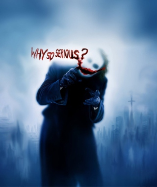 Joker Why So Serious sfondi gratuiti per Nokia Asha 311