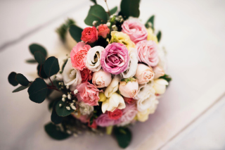 Wedding Bouquet Background for 1080x960
