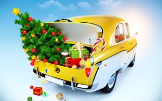 Free Christmas Presents Picture for Android, iPhone and iPad