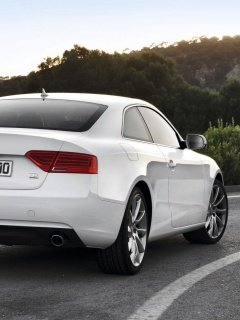 Screenshot №1 pro téma Audi A5 Coupe Rear View 240x320
