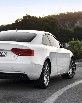 Audi A5 Coupe Rear View sfondi gratuiti per iPhone 6 Plus