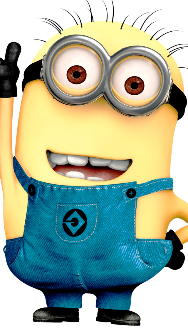 Despicable Me 2 Minion Wallpaper for iPhone 5