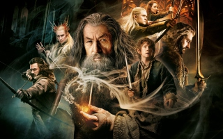 The Hobbit - Desolation Of Smaug sfondi gratuiti per 1080x960