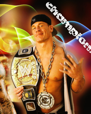 John Cena vs Randy Orton Background for iPhone 3G