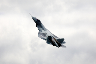Amazing Russian Fighter Jet Picture for Android, iPhone and iPad