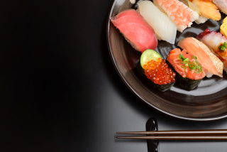 Sushi Plate Background for Android, iPhone and iPad