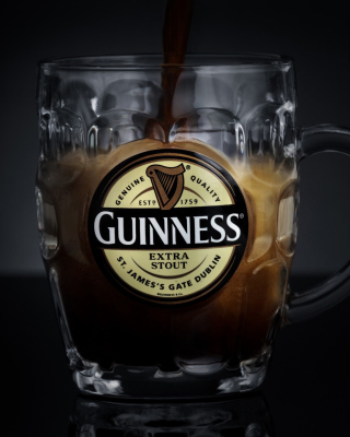 Guinness Extra Stout Background for iPhone 4S