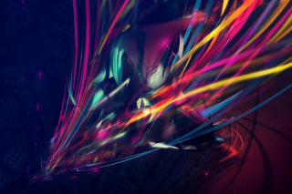 Kostenloses 3D Colorful Abstract Wallpaper für Android, iPhone und iPad