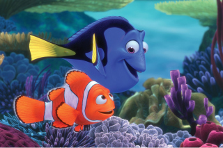 Finding Nemo Cartoon Wallpaper for Android, iPhone and iPad