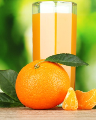 Healthy Orange Juice sfondi gratuiti per Nokia Lumia 800
