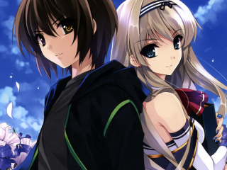 Screenshot №1 pro téma Kurehito Misaki Anime Couple 320x240
