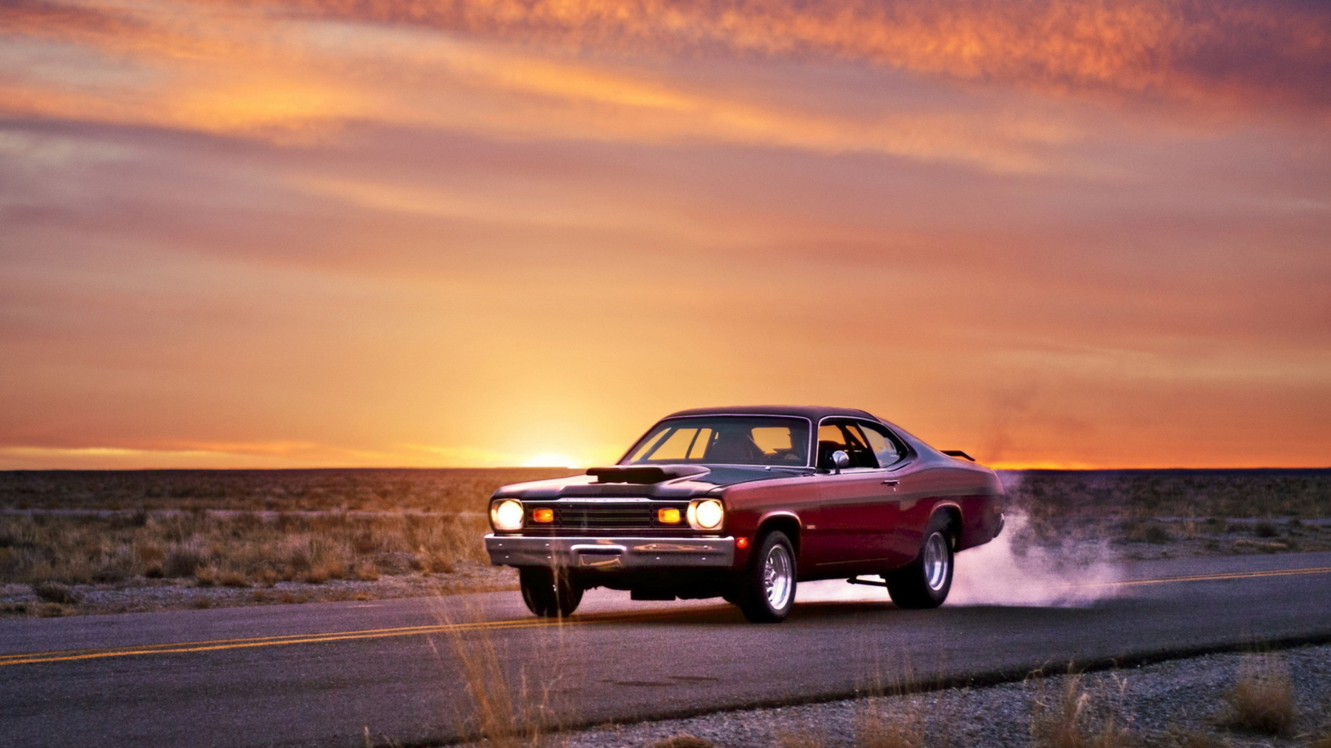 plymouth duster wallpaper for desktop 1920x1080 full hd. Black Bedroom Furniture Sets. Home Design Ideas