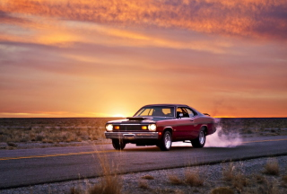Plymouth Duster Wallpaper for HTC Desire HD