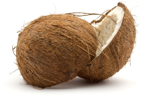 Fresh Coconut Picture for Android, iPhone and iPad