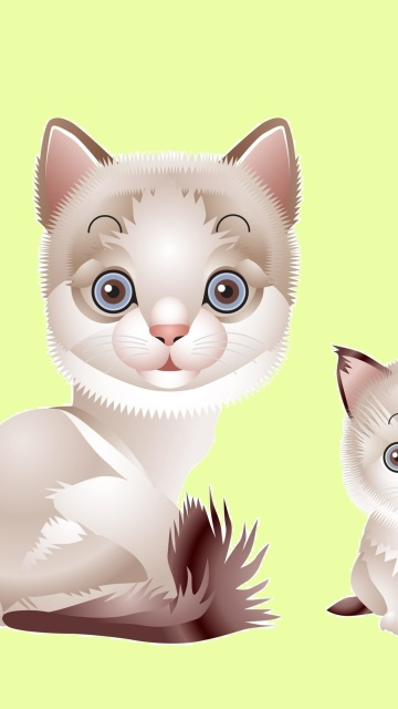Screenshot №1 pro téma Hipster Cat Clip Art 360x640