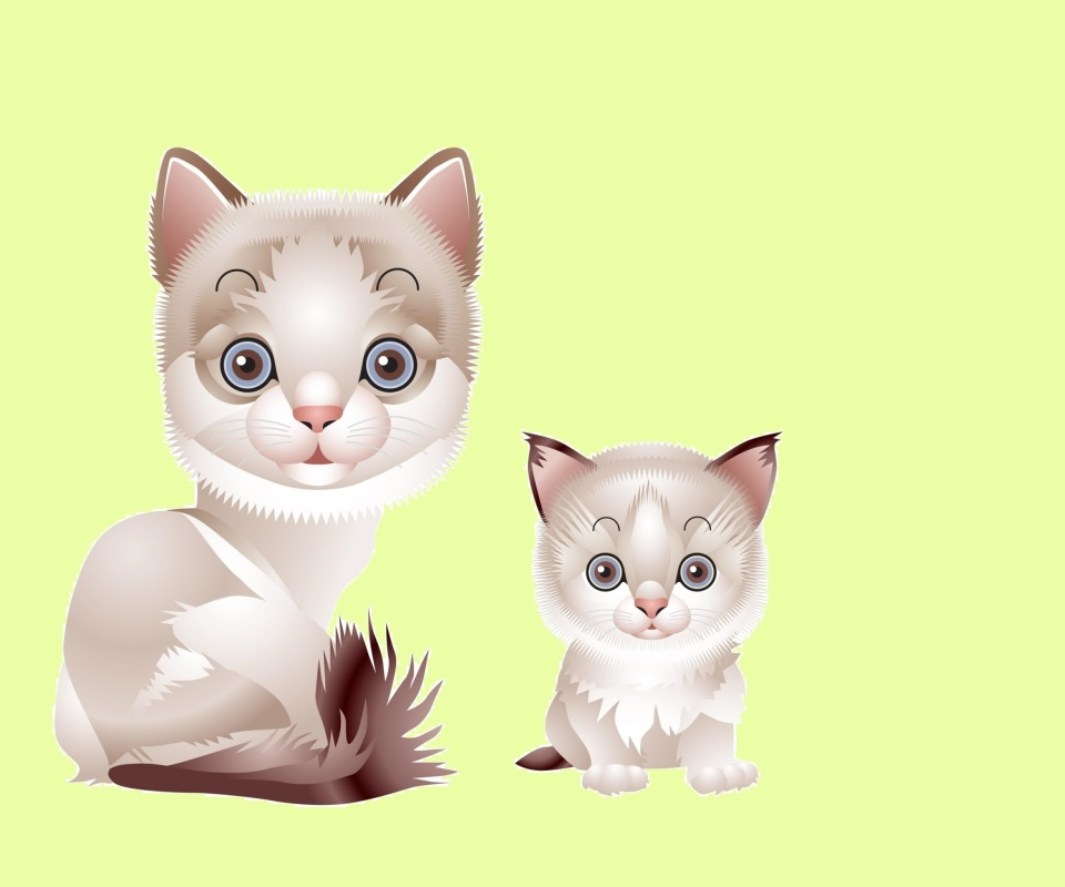 Screenshot №1 pro téma Hipster Cat Clip Art 960x800