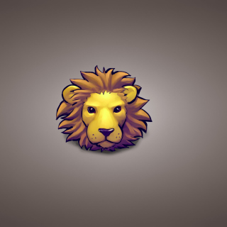 Kostenloses Lion Muzzle Illustration Wallpaper für 208x208