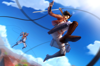 Shingeki No Kyojin, Attack on Titan Background for 1920x1080