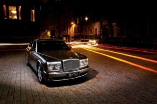 Night Bentley sfondi gratuiti per HTC Desire HD