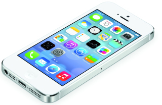 White Iphone5 Ios7 sfondi gratuiti per cellulari Android, iPhone, iPad e desktop