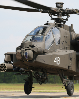 Boeing AH 64 Apache Wallpaper for 240x320