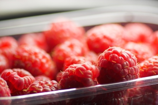 Tasty Raspberry Background for Android, iPhone and iPad