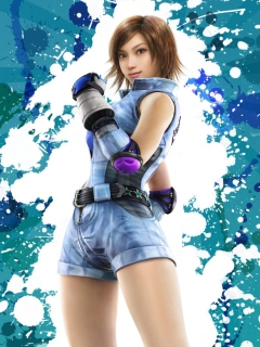 Asuka Kazama From Tekken wallpaper 240x320