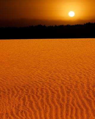 Sand Dunes Background for iPhone 6 Plus