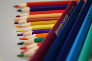 Colored Pencil Sets Background for Desktop 1280x720 HDTV