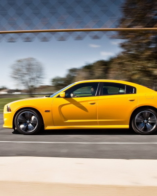 Dodge Charger SRT8 Super Bee - Fondos de pantalla gratis para iPhone SE