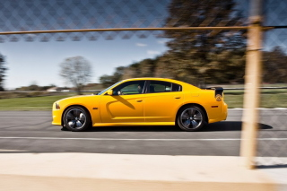 Dodge Charger SRT8 Super Bee Background for Android, iPhone and iPad