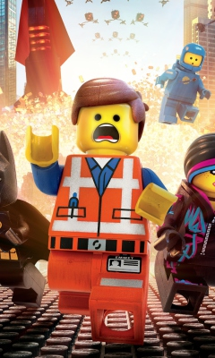 Screenshot №1 pro téma The Lego Movie 2014 240x400